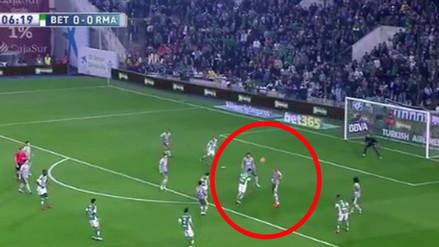 Facebook: el golazo del Betis que dejó sin opción a Keylor Navas del Real Madrid