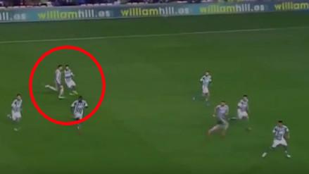 YouTube: Cristiano Ronaldo agredió a un rival en el Betis vs. Real Madrid