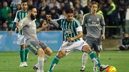 Juan Vargas: Real Betis recibió mala noticia en su lucha por alejarse de la baja
