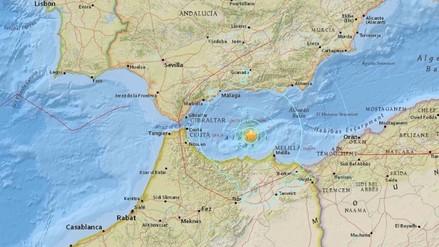 España: Terremoto de 6,3 grados sacude Málaga y Melilla