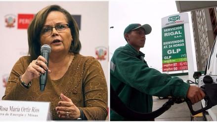 Ministra Ortiz: Petroperú volverá a bajar mañana precios de los combustibles