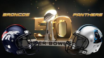 Super Bowl 50: Denver Broncos vs. Carolina Panthers en San Francisco
