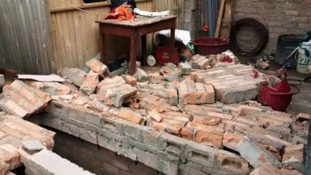 Trujillo: padre de familia muere aplastado por pared