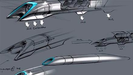 Hyperloop, el tren que viaja a 1100 km/h, apunta a funcionar en 2018
