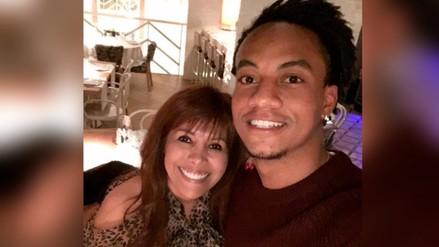 Selección Peruana: André Carrillo se encontró con Magaly Medina en Europa