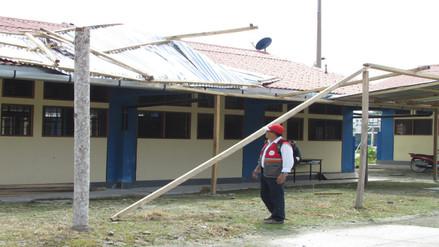 Fuertes vientos dejan 50 damnificados y 59 afectados en Nueva Cajamarca