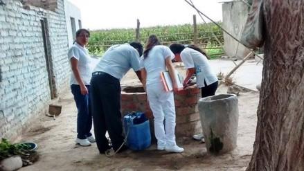 Huaral: realizan inspecciones sanitarias para evitar dengue, chikungunya y zika