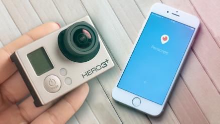 Periscope se integra a las cámaras GoPro