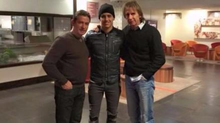 Selección Peruana: Ricardo Gareca y Luiz Da Silva se reunieron en Holanda