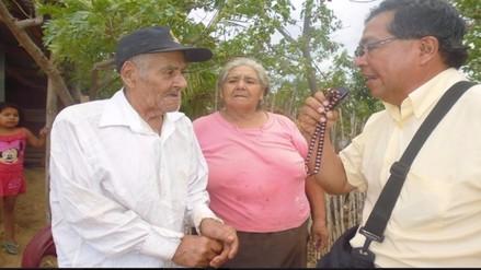 Don Eligio Carrasco Rafael: A los 111 años quiere seguir bailando