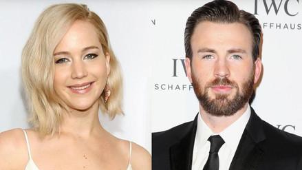 Jennifer Lawrence y Chris Evans no tienen ningún romance