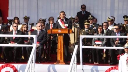 Humala: Éxito de La Haya es un triunfo de todos los peruanos