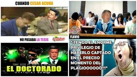 Facebook: aparecen memes tras presunto plagio de tesis doctoral de Acuña