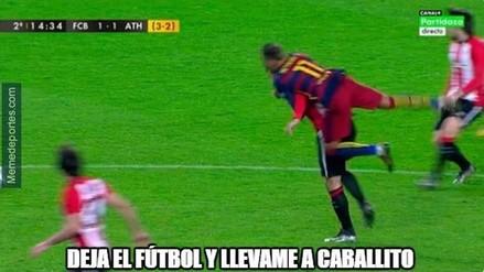 Barcelona vs. Athletic de Bilbao: Neymar es punto de memes tras la victoria 'culé'