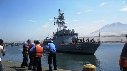 Trujillanos podrán visitar buques navales en Puerto Salaverry