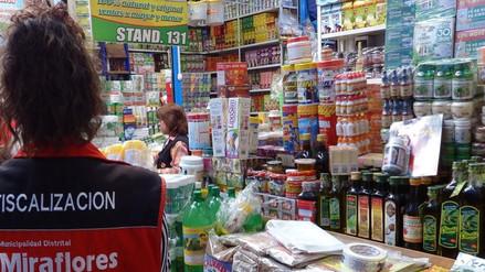 Más de 1500 productos naturistas se decomisaron en Feria El Altiplano