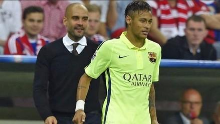 Barcelona: Neymar manifestó su deseo de ser dirigido por Josep Guardiola