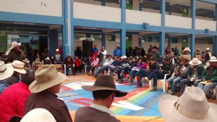 Chumbivilcas: ante protestas se instala mesa de diálogo en Velille