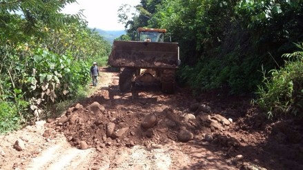 Moyobamba: mejorarán las carreteras afectas por lluvias