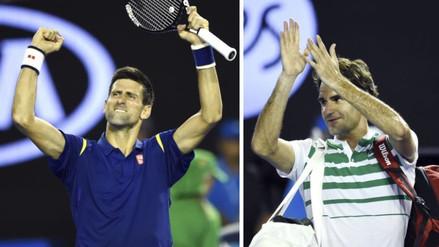 Abierto de Australia: Djokovic batió a Federer y luchará por su sexto título en Melbourne