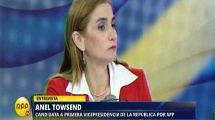 Townsend denuncia aprovechamiento político en caso Acuña