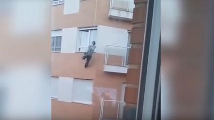 España: muere tras intentar entrar por ventana de su departamento