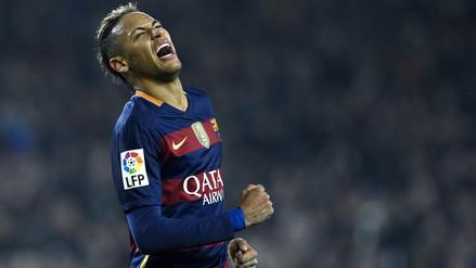 Instagram: Neymar muestra cómo quedó su tobillo luego de jugar Copa del Rey