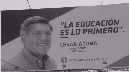 JEE dispone retirar propaganda de César Acuña asociada a la UCV
