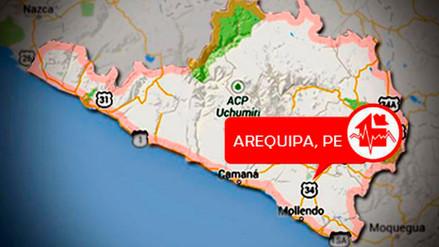 Caylloma: dos sismos se registraron en la ciudad de Maca