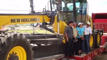 Moyobamba: MTC entregará maquinarias para emergencias viales