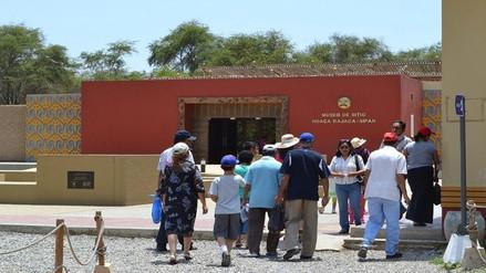 """Museo de sitio de """"Huaca Rajada Sipán"""" cumple siete años de creación"""