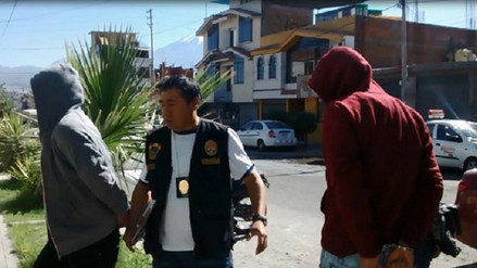 Capturan a banda de microcomercializadores de droga en el Cercado