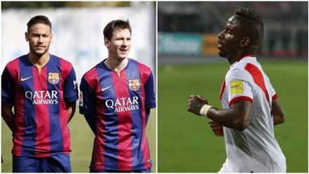Barcelona: Jefferson Farfán aseguró que es hincha de Lionel Messi y Neymar (VIDEO)