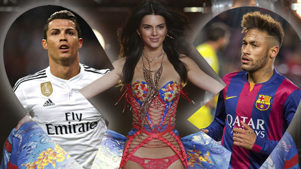 Instagram: Cristiano Ronaldo y Neymar en disputa por Kendall Jenner