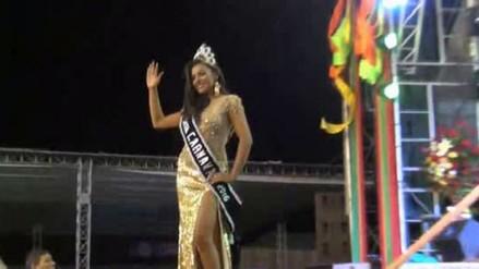 Cajamarca ya tiene nueva reina del Carnaval 2016