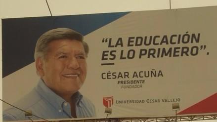 Denuncian que UCV paga a radio trujillana por proselitismo a favor de Acuña