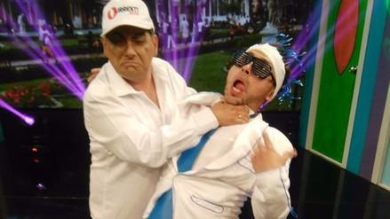 Zumba y 'Daniel Urresti' frente a frente en 'Habla Bien'