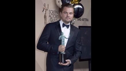 SAG Awards 2016: Leonardo DiCaprio fue elegido Mejor Actor
