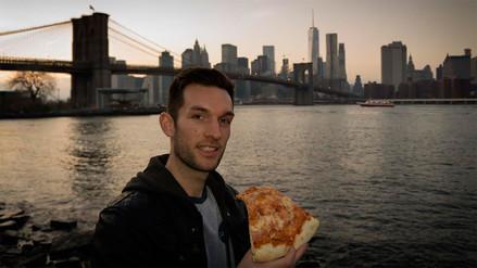 Instagram: un hombre recorre el mundo para comer pizza