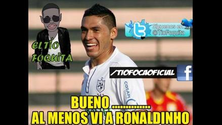 Facebook: San Martín y los memes de su derrota ante Barcelona de Ronaldinho