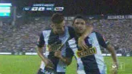 Alianza Lima vs. Emelec: Reimond Manco marcó espectacular gol de tiro libre (VIDEO)