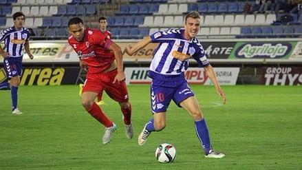 Selección Peruana: Alexander Callens jugó en empate 1-1 entre Numancia y Girona