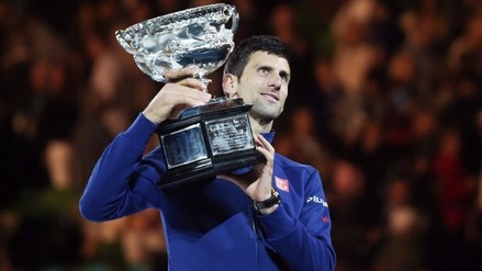 Novak Djokovic venció a Andy Murray en la final del Abierto de Australia