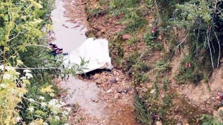 Huancayo: joven fue hallada muerta en canal de regadío de San Jerónimo