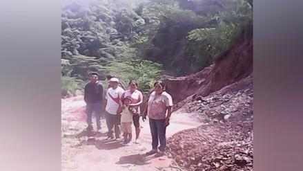 Oxapampa: lluvias afectan viviendas y alcantarillado