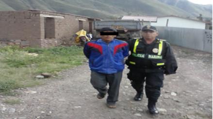 Capturan a individuo que ultrajo niña en Andahuaylillas