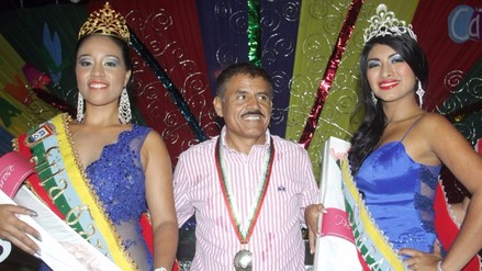 Pobladores de Catacaos eligieron a su reina de Carnaval 2016