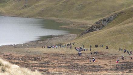 Se movilizan nuevamente contra proyecto minero Conga