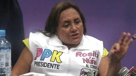 Rosa Núñez negó haber 'arreglado' para lograr bachiller de Acuña
