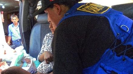 Mujer dio a luz dentro de un patrullero de Serenazgo en Ayacucho